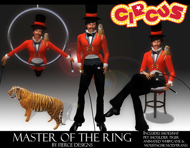 Master of the ring (Ringmaster Male)