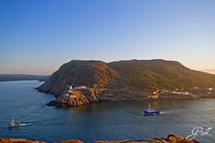 Fishing boats (gwhiteway) Tags: lighthouse canada port newfoundland boats fishing stjohns