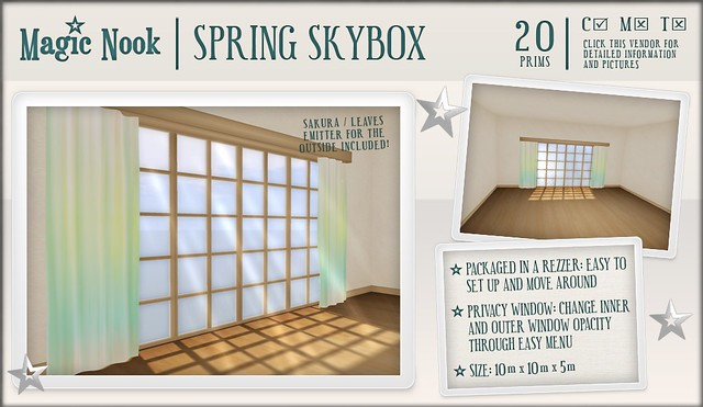 [MAGIC NOOK] Spring Skybox