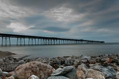 Contrast (LGM Photography) Tags: sea sky cloud rocks isleofman peer ramsey nikon2470mmf28 nikond300s