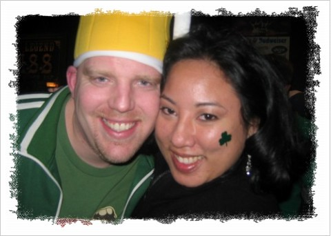 Jen and Jeff St. Patty's Day 2006