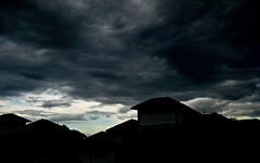 It's coming.. (Naina Iqbal) Tags: wild storm clouds canon fierce malaysia naina canondigitalixus70 hunaina nainaphotography