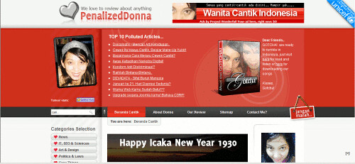 Penalized Donna - Wanita Cantik Indonesia