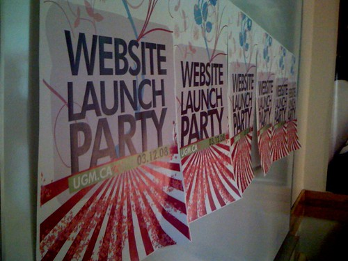 UGM Website Launch