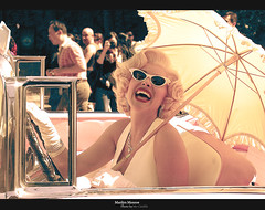 Marilyn Monroe (universal studios) (.. bdlzi ..) Tags: california old pink cinema celebrity classic car sunglasses marilyn lady movie persona star 60s marilynmonroe hollywood singer monroe actress movies 50s universal universalstudios marilyne umberilla