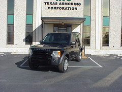 Armored Bulletproof 2008 Land Rover LR3!