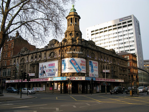 'The Shaftesbury Theatre -The Shows -The Hits And The Misses