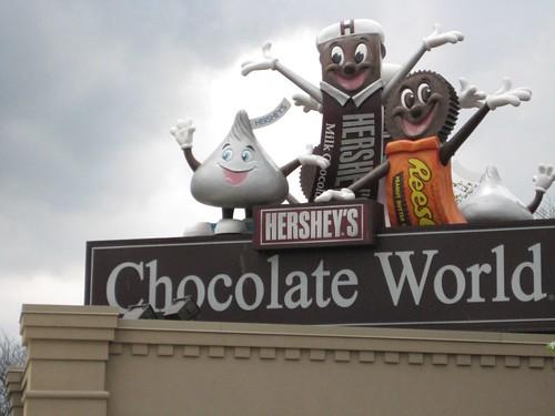 Chocolate World in Hershey, PA