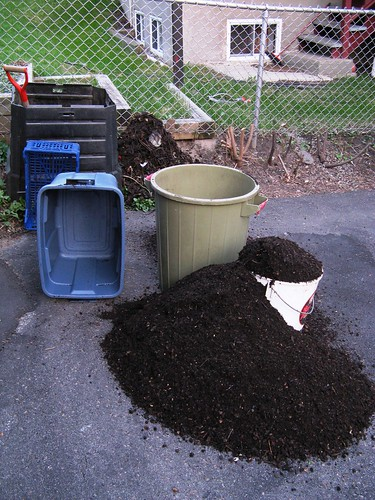 Time to harvest the compost