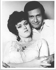 Jerry Herman and Bernadette Peters.