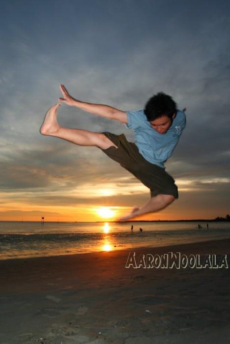 AaronWoolala at Lalang