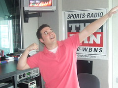 Ricordati posing (971 The Fan) Tags: show columbus ohio sports radio fan am state osu midday ohiostate ricordati 1460 wbns 1460thefan wbnsam torgy