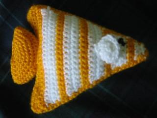 Angel Fish Amigurumi Pattern : Ravelry: Amigurumi Angel Fish pattern by Lion Brand Yarn
