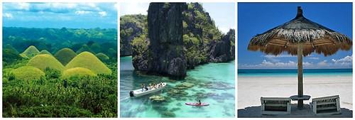 Bohol, Palawan & Boracay