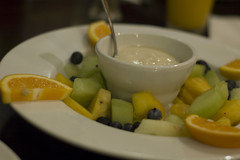 Fresh fruit and Yogurt Platter