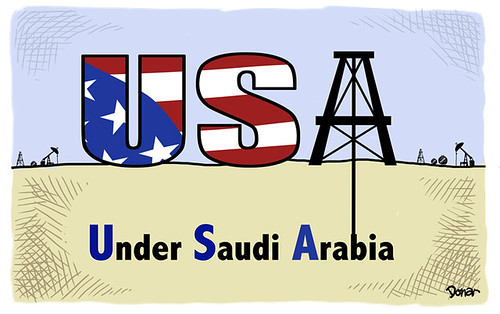 usa saudi arabia cartoon