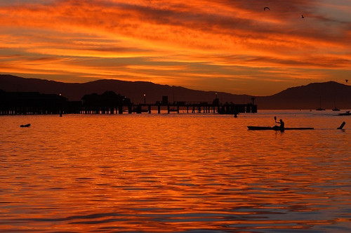 Morning Row by Damian Gadal