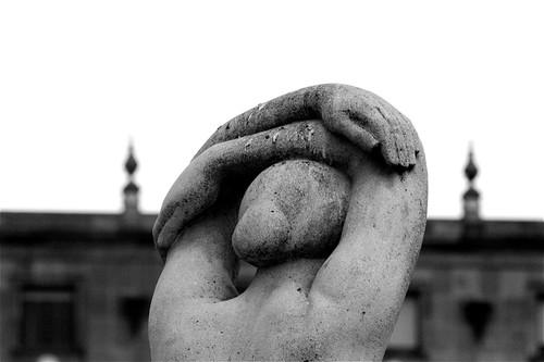 Statue on Placa de Catalunya