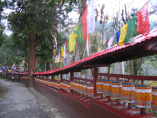 Local Buddist Monestry - gangtok