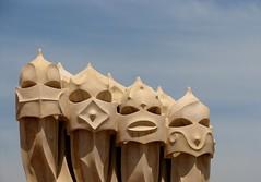 Casa Mila, La Pedrera Espai Gaudi, Barcelona, Spain (Snuffy) Tags: barcelona spain gaudi greatshot casamila lapedrera straightfromcamera 5photosaday wowiekazowie worldtrekker ilovemypics qualitypixels