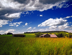 Grassy (Nicholas_T) Tags: sky field clouds rural landscape spring lowlight pennsylvania farm barns creativecommons stratocumulus endlessmountains jordantownship lycomingcounty