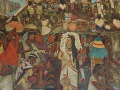 """the Great City of Tenochtitlán"" (1945) (sftrajan) Tags: méxico mexicocity mural diegorivera mexique palacionacional mexiko distritofederal ciudaddeméxico muralismo 墨西哥 muralism mexicanhistory メキシコ mēxihco historiamexicana nationalpalast mexicanmuralists palazzonazionale thegreatcityoftenochtitlán nationaalpaleis"
