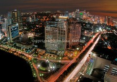 Planet Jakarta (diankarl (www.diankarlina.com)) Tags: city skyline night indonesia landscape lights asia cityscape view dusk wideangle jakarta metropolitan nightimage nikond200 flickrchallengegroup friendlychallenges friendlycomments diankarl diankarlina wwwdiankarlinacom