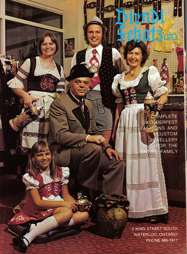 Vintage Ad #570: Oktoberfest Fashion Shoot