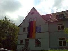 Deutschland beflaggt