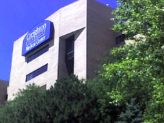 Creighton University medical center - a view from east