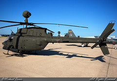 USA - Army Bell OH-58 Kiowa (00-00373) (Michael Davis Photography) Tags: army photography airport ramp huntsville aviation flight helicopter radar usarmy unitedstatesarmy armyhelicopter oh58 huntsvilleairport armyaviation khsv belloh58kiowa 2008huntsvilleairshow 0000373