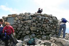 Scafell Summit Cairn