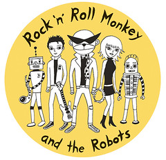 Album artwork for Rock 'n' Roll Monkey and the Robots