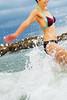 wave break (AraiGodai) Tags: portrait people girl beautiful asian interesting jump bodylanguage wave explore thai araigordai raigordai araigodai