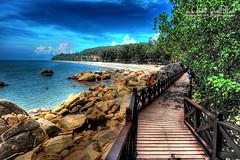 Teluk Cempedak (Jamal Rahman) Tags: beach malaysia tropical hdr kuantan pahang lightroom telukcempedak photomatix pseudohdr alemdagqualityonlyclub