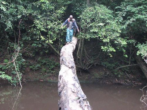 crossing the Loli River