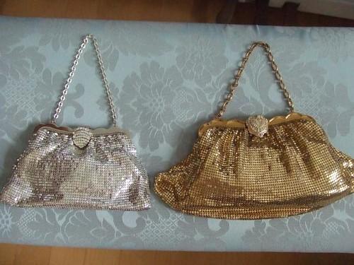 1950s WHITING & DAVIS Mesh Bags