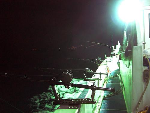海釣船的釣具組