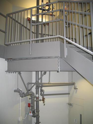 Short fire stairwell