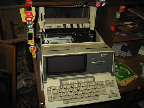 Old Brother word processor