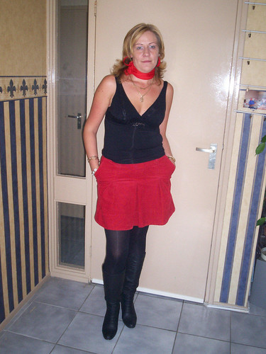 Very nice mature lady in boots - a photo on Flickriver