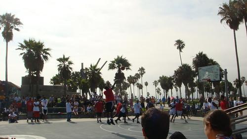 Torneo di Basket a Venice Beach