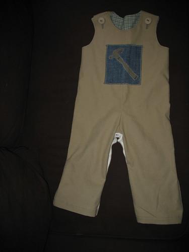 custom overalls