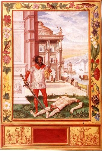 10-La separacion del cuerpo por accion de la espada de fuego