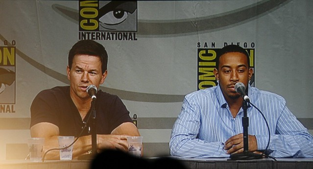 San Diego Comic-con 2008 20th Century Fox Max Payne Panel - Mark Wahlberg and Ludacris by Arrow of Apollo