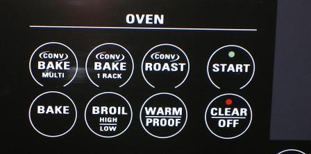 Oven Controls from my Sun Valley Apartment