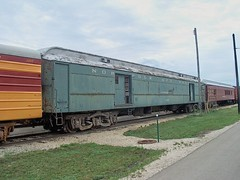 Former Norfolk & Western RR heavyweight steam era baggage car.