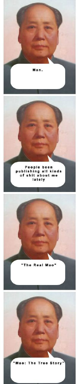 Chairman Mao explains it all