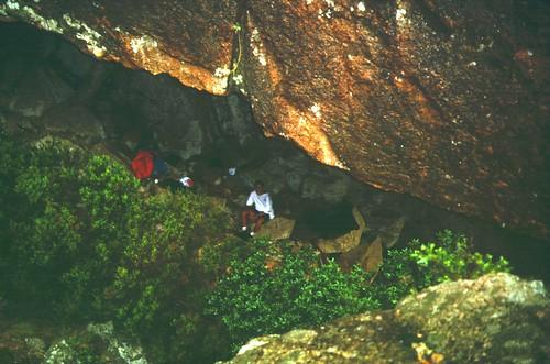 Giru di Ferriate 95 : Sous l'aiguille et l'abri-bergerie