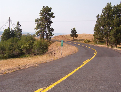 Old US 30 at the top
